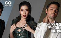 แฟชั่น แสตมป์ ใบเตย และ ฮิวโก้ บนปกนิตยสาร GQ Thailand