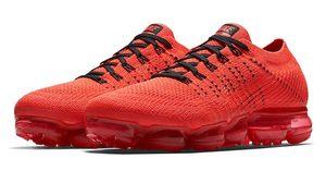 เผยภาพอย่างเป็นทางการสำหรับ CLOT x Nike Air VaporMax สีแดงเจ็บจี้ด