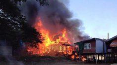 ชาวเน็ตวอนช่วยเหลือ เด็กม.2 บ้านโดนไฟไหม้ วอดทั้งหลัง