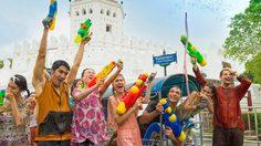 รวมสถานที่จัดงานสงกรานต์ 59 : Songkran Festival 2016