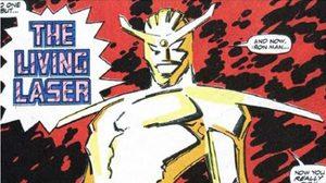 Living Laser วายร้ายจ้าวแห่งแสงเลเซอร์ จาก Iron man