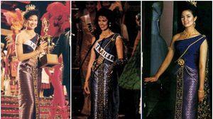 รวมชุดประจำชาติไทย สวยไม่แพ้ชาติใดในโลก!! คว้ารางวัลบนเวที 'Miss Universe' มาแล้วถึง 6 ครั้ง
