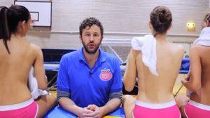 งานในฝันชัดๆ เห็นแล้วอิจฉา โค้ชนักกีฬาสาวเปลือยอก งานนี้่มีแต่สาวๆ เด้ง ดึ๋งๆ