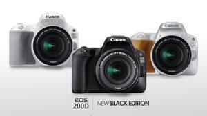 Canon เพิ่มกล้อง EOS 200D 3 สีใหม่ตอบรับผู้ซื้อที่ชื่นชอบกล้องสไตล์แฟชั่น
