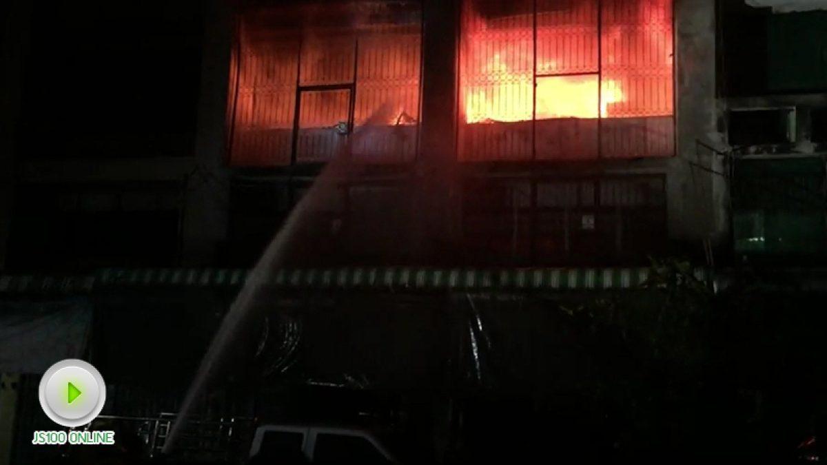 ไฟไหม้บ้านเรือนประชาชน ภายในซอยหลานหลวง ซ.8 (29-10-60)