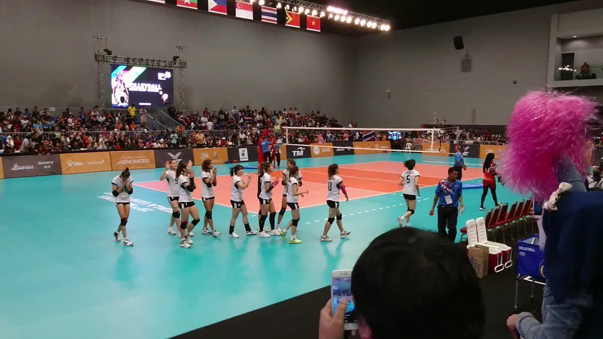 วอลเลย์บอลหญิง ทีมชาติไทย ขอบคุณแฟนๆ หลังคว้าเหรียญทอง ซีเกมส์