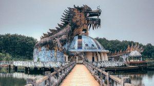 Ho Thuy Tien สวนน้ำ สุดหลอนในเวียดนามที่ถูกปล่อยรกร้างไว้กว่า 12 ปี