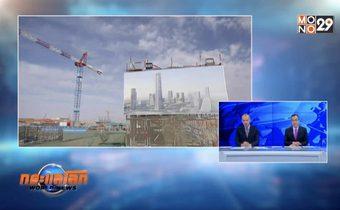 จีนสร้างอาคารสูงที่สุดของแอฟริกาในอียิปต์