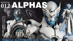 Alphas จาก Zetman โดย REVOLTECH TAKEYA งามไร้ที่ติ