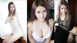 Li Xue Ting Anna สาวจีน ร้อนแรงทะลักซีทรูบางเฉียบ