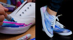 เพิ่มความชิคให้ รองเท้าผ้าใบ คู่เดิมแบบง่ายๆ ทำอย่างไร ตามมาดู
