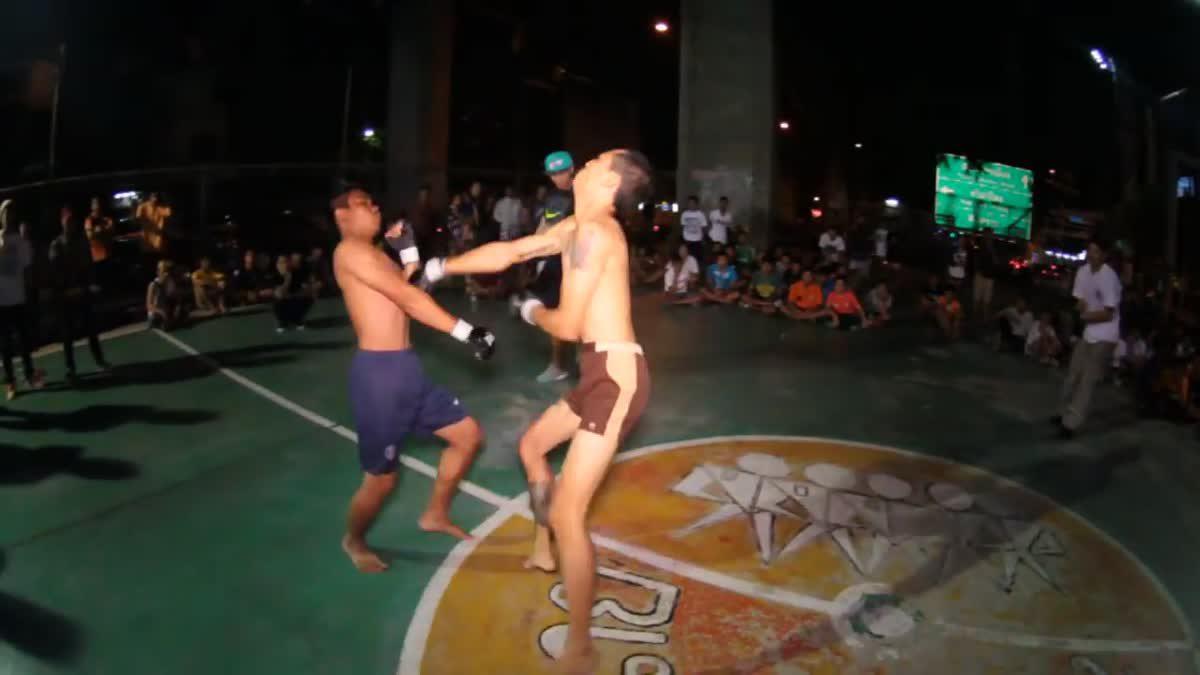 Fight Club Thailand คนเซอร์ x โหน่ง คู่ที่ 25