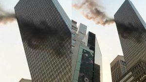 ไฟไหม้อาคาร 'ทรัมป์ ทาวเวอร์' บาดเจ็บ 2ราย