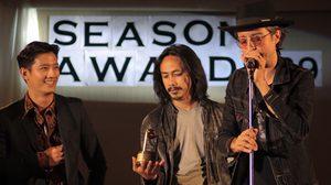 'ดำสนิท' พา 'ฮิวโก้' ซิวรางวัล 'เพลงยอดเยี่ยม' จากเวที สีสันอวอร์ด