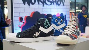 รองเท้าผ้าใบวัยรุ่น PONY คอลเลคชั่นล่าสุด จากฝีมือสตรีทอาร์ติสท์ชื่อดังของไทย