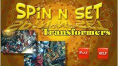 เกมส์ต่อจิ๊กซอ Spin n Set Transformers สุดสนุก