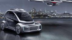 นี่รถหรือเครื่องบิน…Audi พัฒนา รถบินได้ อย่าง Pop.Up Next