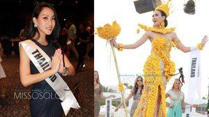 นกยูง ทำเต็มที่! คว้า 2 รางวัลกลับไทย จากเวที Miss Eco International 2017
