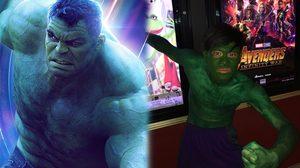 หุ่นไม่ให้แต่ใจรัก!! หนุ่มแฟนธุ์แท้โคตรอิน ลงทุนแต่งคอสเพลย์สุดฮามาดู Avengers: Infinity War