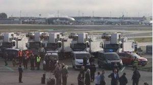 สายการบินบริติชแอร์เวย์เร่งอพยพคน หลังหญิงวัย 50 อ้างมีระเบิดบนเครื่องบิน