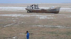 ทะเลอารัล หนึ่งในทะเลสาบที่กำลังสูญหาย