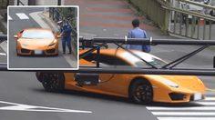 ยอมเค้าเลย!! ตำรวจญี่ปุ่นปั่น จักรยาน ไล่จับรถลัมโบร์กีนี่ที่ทำผิดกฎจราจร