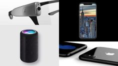 Foxconn หลุดข้อมูล iPhone 8, Apple Glasses, คีย์บอร์ด E-Ink และ ลำโพง Siri