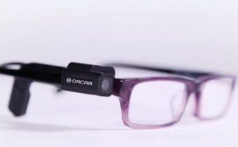 OrCam แว่นตาเพื่อผู้บกพร่องในการมองเห็น