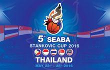 """ถ่ายทอดสด Basketball """"5th SEABA Stankovic Cup Thailand 2016"""""""