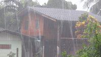 อุตุฯ เผยไทยตอนบนฝนชุกหนักบางพื้นที่-กทม.ตกร้อยละ 60