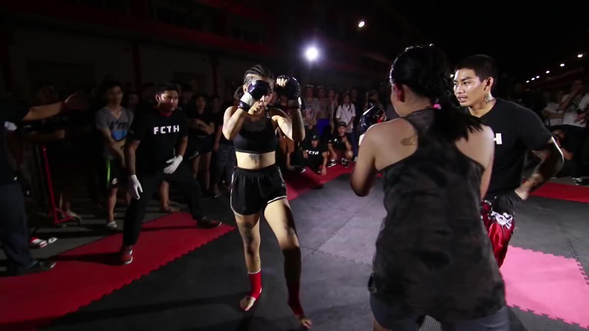 Fight Club Thailand วันสำคัญ (First women) แคท ศิษย์หมออ่วม x ฝน สยามยู คู่ที่ 135