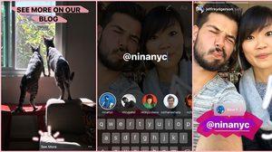 เปิดตัวฟีเจอร์ Boomerang, Mentions และ Links ใหม่ล่าสุดบน Instagram Stories