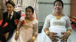 สาวจีนวัย 38 ปี แต่งงาน กับชายหนุ่มรุ่นลูก พร้อมสินสอดเป็นเงิน และรถซุปเปอร์คาร์ 1 คัน!!