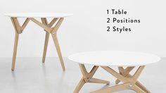 ได้หมด ถ้าสดชื่น! นวัตกรรม ฉบับสายย่อ โต๊ะแปลงร่าง 1 ตัว ใช้งานได้หลายประโยชน์