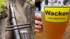 เรื่องเบียร์เรื่องใหญ่ เทศกาลดนตรีเยอรมันจัด ท่อส่งเบียร์ ยาว 7 กิโล ดื่มไม่อั้น