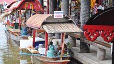 ตลาดน้ำหัวหินสามพันนาม ตลาดน้ำเปิดใหม่ พร้อมแผนที่การเดินทาง