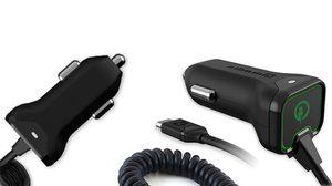 Qmadix ส่งทีเด็ดที่ชาร์จมือถือในรถยนต์มาพร้อม Quick Charge 2.0 ชาร์จเร็วกว่าถึง 75%