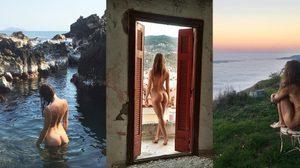 ช่างภาพสาว แก้ผ้าถ่ายรูป ในสถานที่สวยงามทั่วโลก เพื่อแสดงจุดยืนเรื่องการถ่ายนู้ด