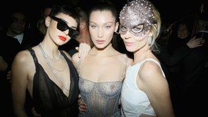 ใครบางกว่าชนะ! ประมวล ซีทรู ล่าสุดของ Kendall Jenner & Bella Hadid จาก Dior Ball
