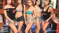 12 สาว RUSH วาดลวยลายเซ็กซี่ในงาน SOUNDWAVE HIPHOP FESTIVAL
