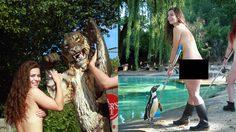 วิ่งแก้ผ้าเพื่อการกุศล ในสวนสัตว์ พนักงานสวนสัตว์คิดไอเดียหาเงินช่วยเหลือเสือ