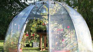 นวัตกรรมทำสวนเก๋ๆ ! เต็นท์เรือนกระจก พับเก็บได้ สวนอีเดน น้อยๆ ในบ้าน