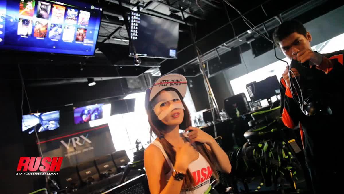 Been there done that-น้องฟิล์ม RSC พาไปตะลุยแดนเกม VR ที่มีอุปกรณ์เล่นเกมแบบใหม่ครบครัน