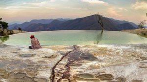 แปลก! เที่ยวน้ำตกน้ำแร่ เฮียวี เอล อควา ประเทศเม็กซิโก