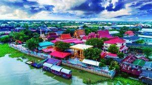 ล่องเรือ ไหว้พระ ชมวิถีชีวิตไทย-มอญ บ้านศาลาแดงเหนือ จ.ปทุมธานี