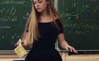 Oksana Neveselaya คุณครูสอนคณิต สวบปัง น่ารักสุดๆ ไปเลย