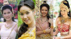 14 นักแสดงสาวละครพื้นบ้าน ในลุคไม่สวมชฎา-มงกุฎ