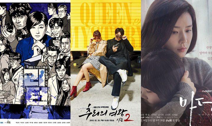 สรุปเรตติ้งซีรีส์เกาหลีวันที่ 15 มีนาคม 2561