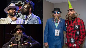 World Beard&Mustache Championships ประกวดหนุ่ม เครา งามที่สุดในโลกประจำปี 2017