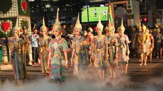 บรรยากาศพิธีเปิดงาน เทศกาลเที่ยวเมืองไทย 2558